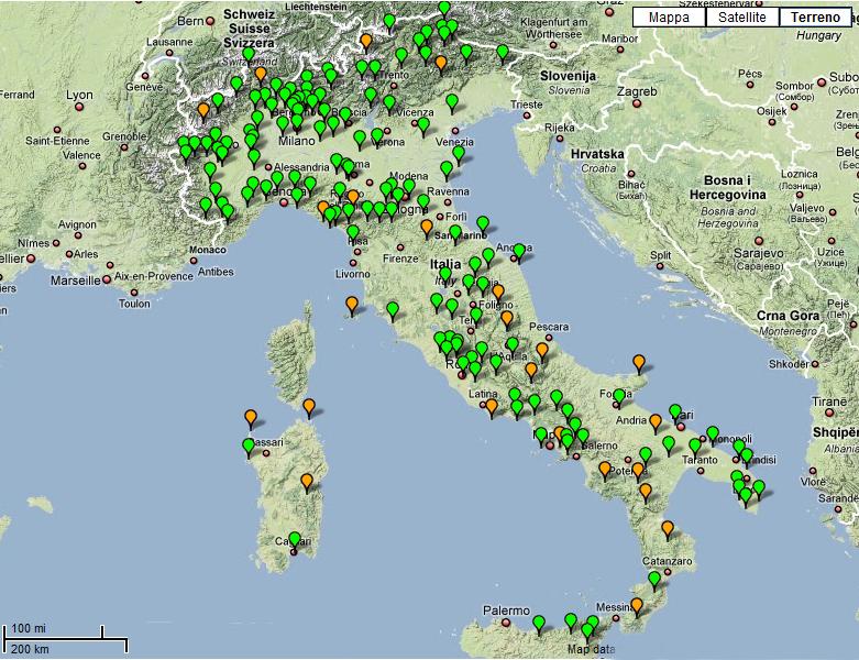 Espacios Naturales de Italia  Gua Blog Italia