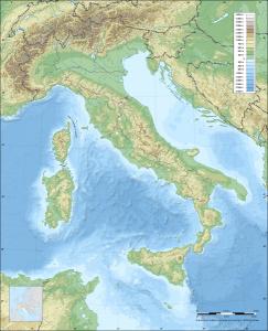 Montañas de Italia