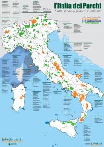 Biodiversidad en los parques naturales italianos