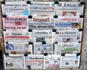 Periodicos de Italia
