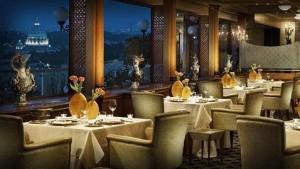 Restaurante La Pergola de Roma