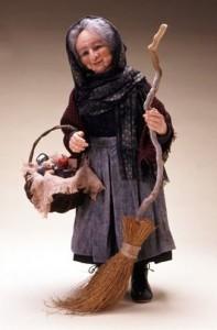 Befana, personaje típico de las Navidades italianas