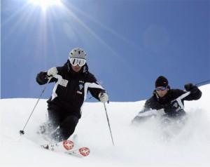 Esquiar en los Alpes Dolomitas