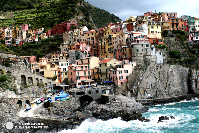 Manarola, uno de los pueblos de Cinque Terre