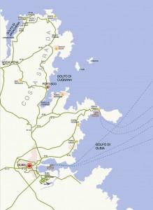 Mapa de la Costa Esmeralda