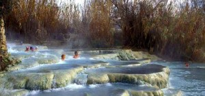Termas al aire libre en Toscana