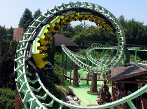 Atracción Magic Mountain en Gardaland
