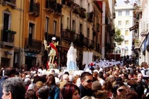 Procesión de Semana Santa en Cagliari, Cerdeña (Foto Flickr de cristianocani )