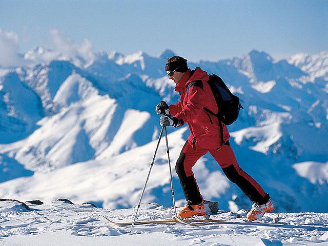 Deportes en los Alpes Dolomitas