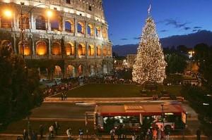 Mercadillo de Navidad de Roma