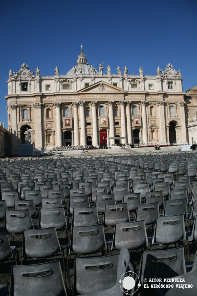 Plaza de San Pedro. Audiencias del Papa