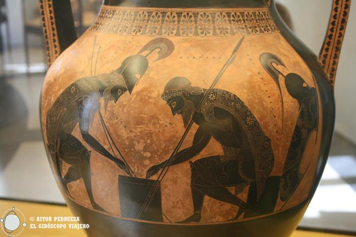 Vasija del museo Etrusco