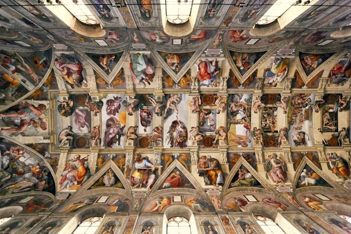 La obra maestra de los Museos Vaticanos, la Capilla Sixtina