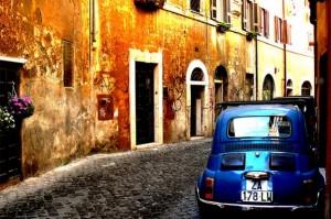 Calles del barrio del Trastevere