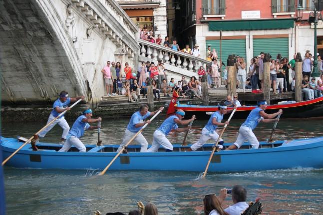 La Regata Histórica de Venecia