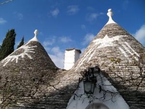 Signos en los tejados de los Trulli