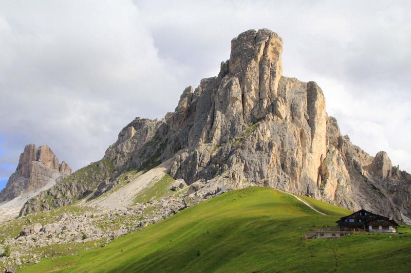 Refugio en los Dolomitas