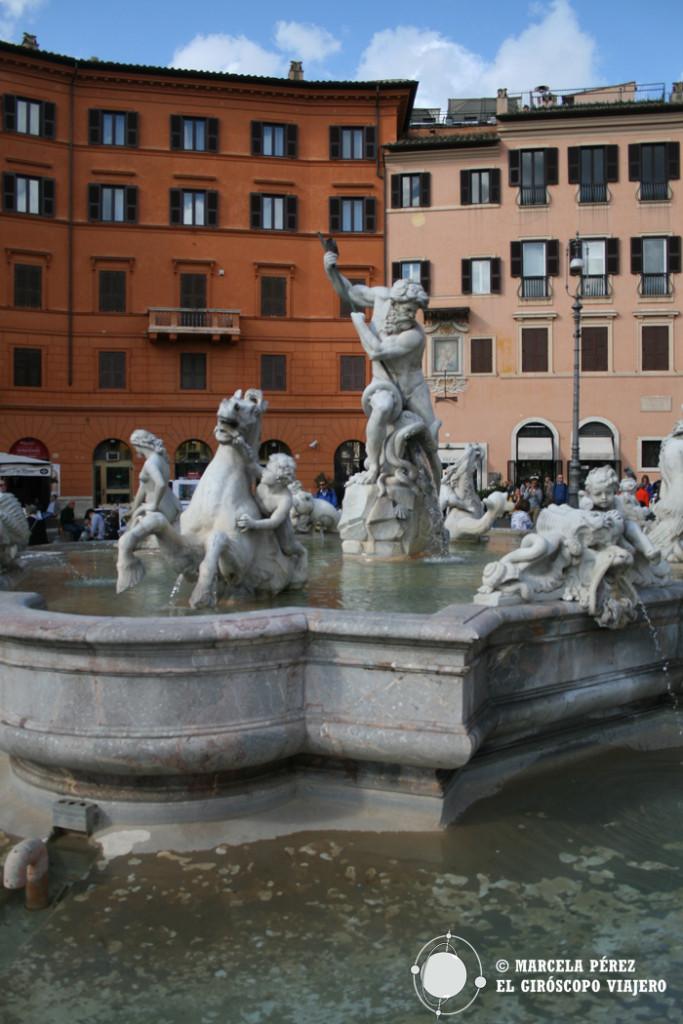 Fontana de Neptuno en Piazza Navona