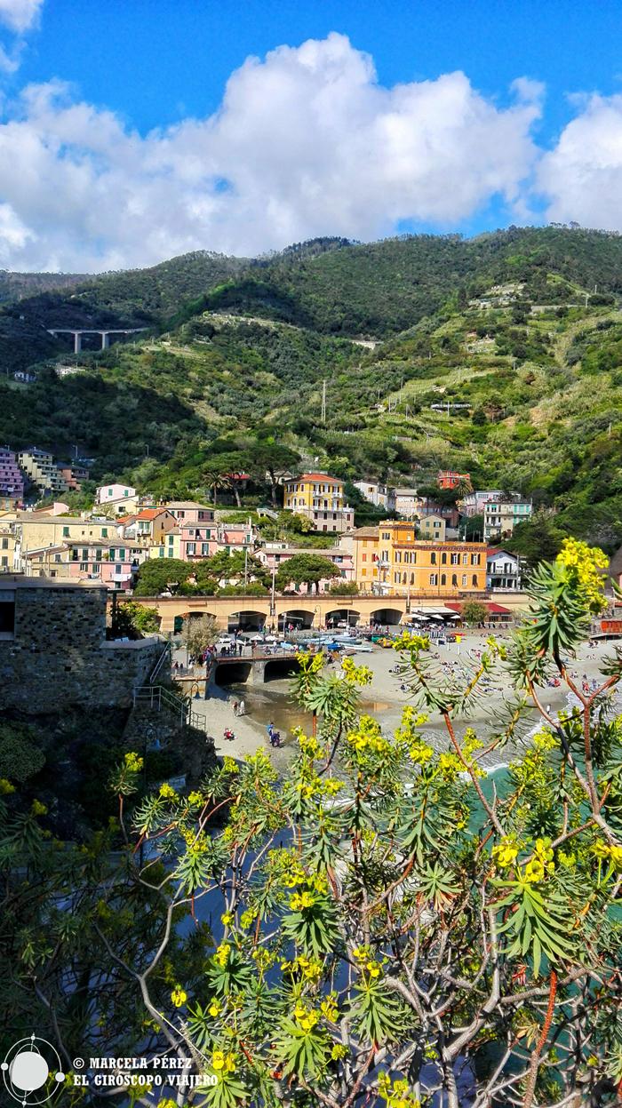 La belleza de Monterosso. Cinque Terre