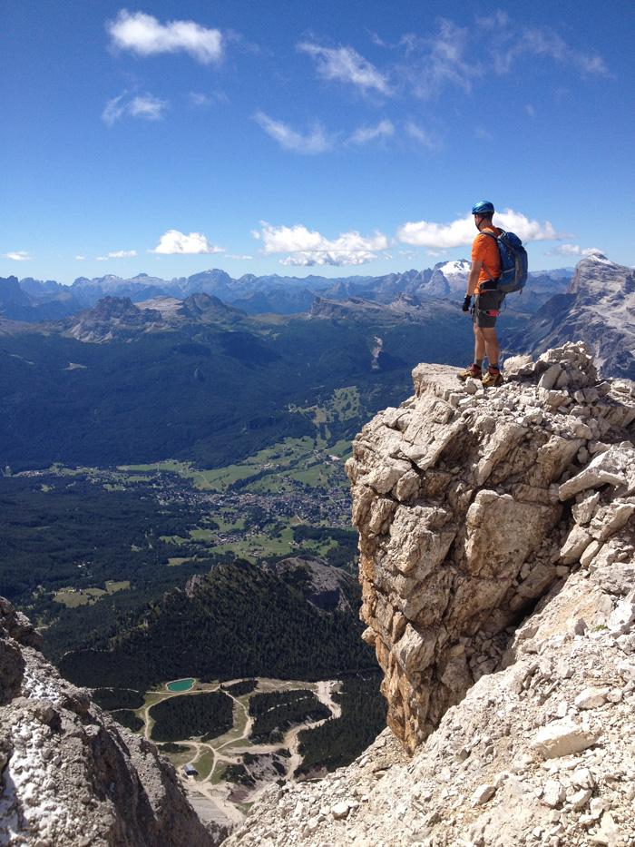 Trekking por los Dolomitas
