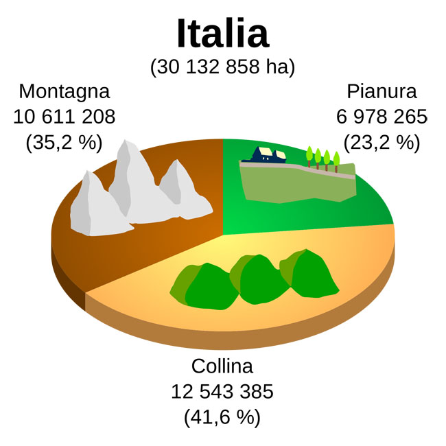 Organización Territorial de Italia