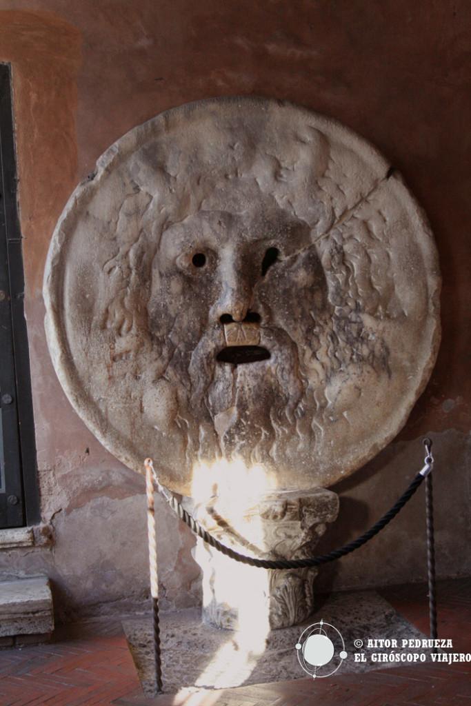 Bocca de la Veritá, un éxito del turismo de Roma
