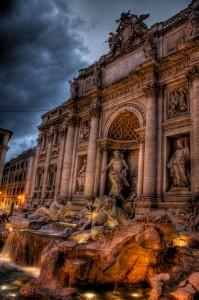 Fontana de Trevi de Roma (Foto Flickr de hoolioaRTs )