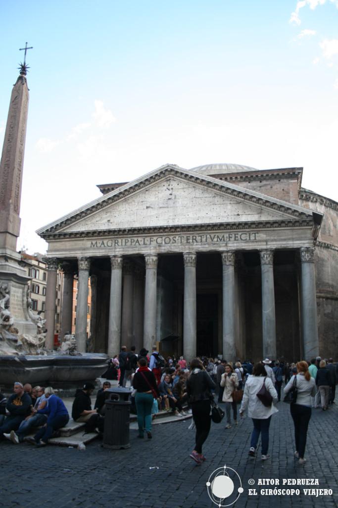 El impresionante Panteón de Roma. El edificio mejor conservado de la Roma Antigua