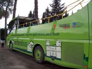 Autobús turístico Archeobus en Roma (Foto Flickr de wintersallen)