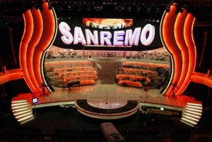 Escenario del Festival de San Remo