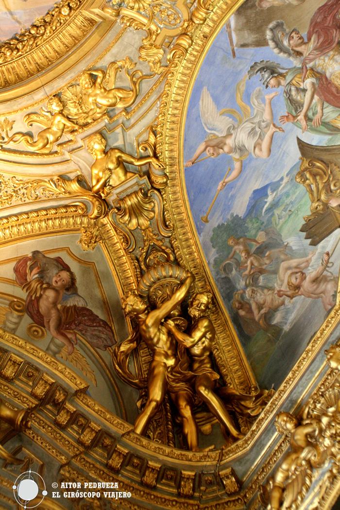 Interior de uno de los Palacios Rolli de Génova