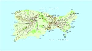 Mapa detallado de que hay que ver en Capri