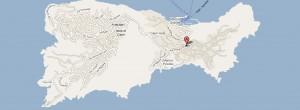 Mapa de carreteras y comunicaciones de Capri