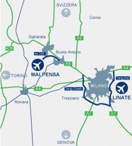 Aeropuertos de Milán