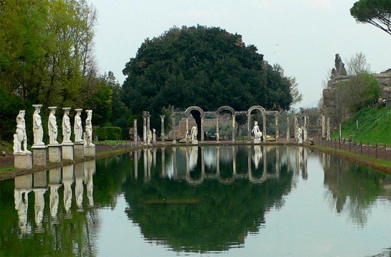 Villa Adriana Tivoli Italia