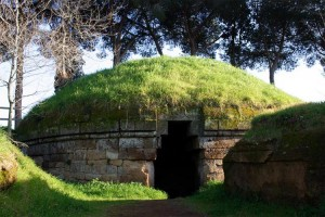 Necrópolis Etrusca de Cerveteri (Foto Flickr de lumao)