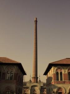Asentamiendo industrial de Crespi d'Adda (Foto Flickr de  $IMONE RAVERA PHOTO©)