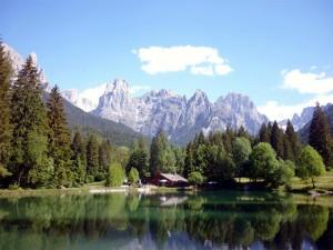 Lago Welsperg en los Dolomitas (Foto Flickr de PIZZO76)