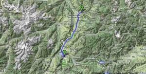 Como llegar a Dolomitas