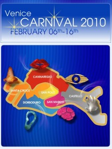 Cartel Carnaval de Venecia 2010