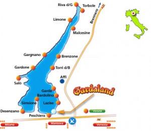 Como llegar al Parque de atracciones Gardaland