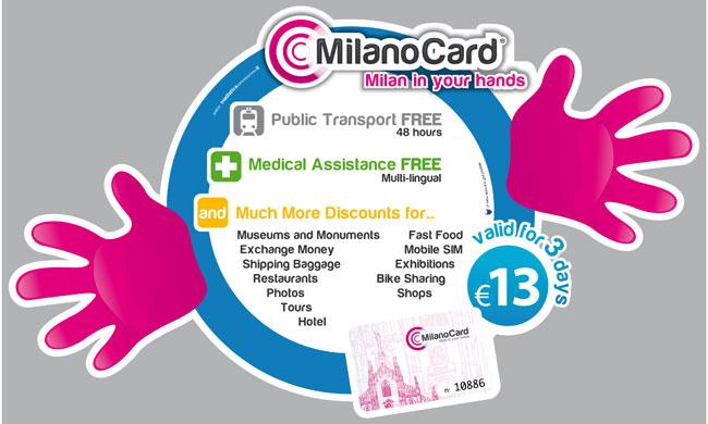 Milano Card- Tarjeta turística de Milán