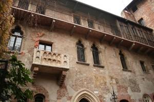 Balcón de la casa de Julieta