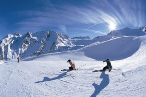 Esquiar en Italia