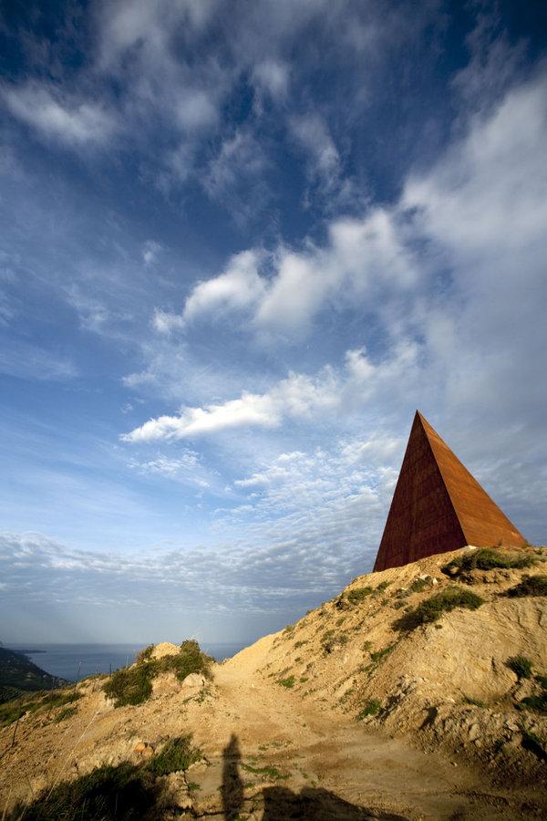 La Fiumara d'Arte del Valle de Tusa en Sicilia