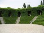 Arte topiaria y esculturas vegetales en los jardines de Italia