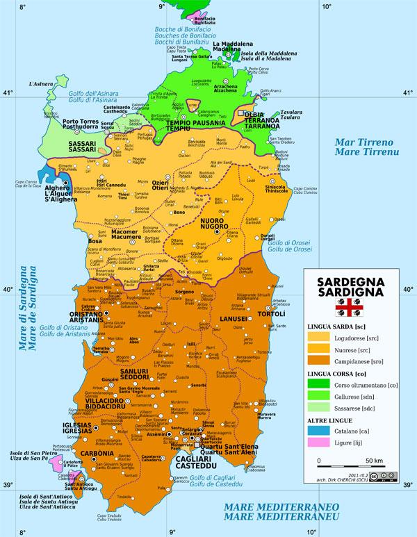 mapa de cerde a gu a blog italia