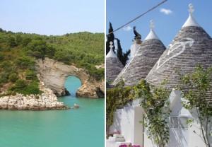 Naturaleza y los Truilli de Alberobello