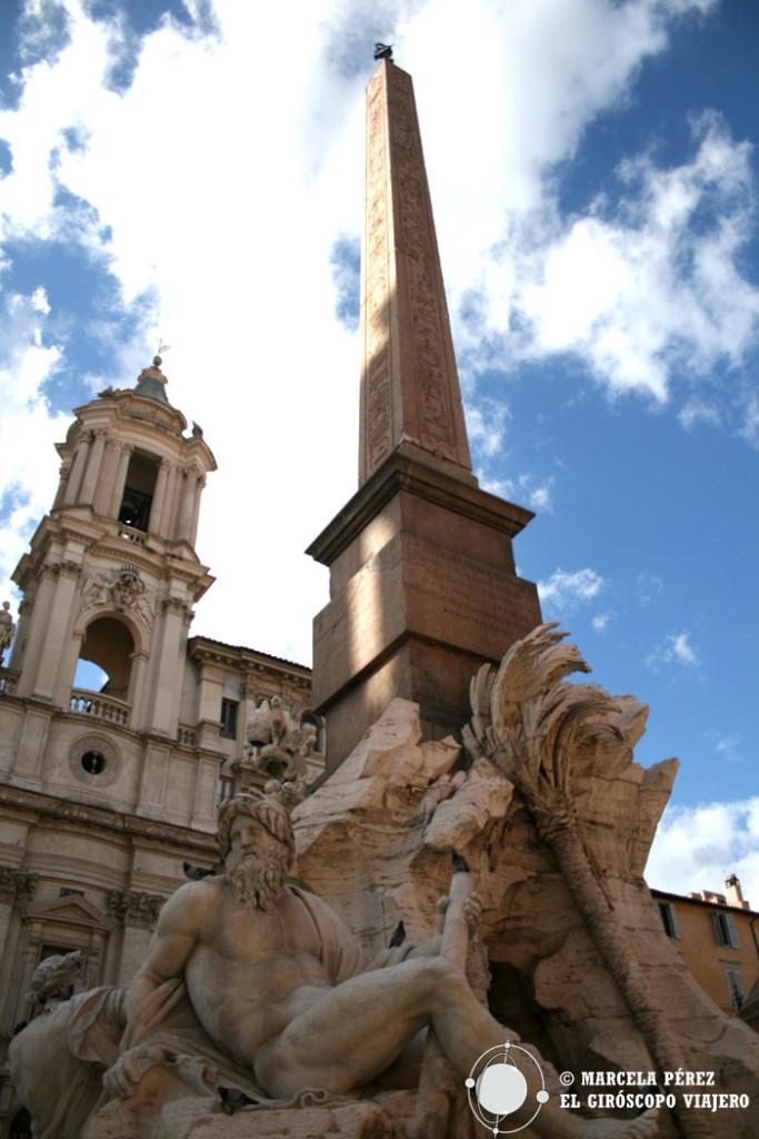 """""""Fontana de Quattro Fiumi"""", Piazza Navona, Roma"""