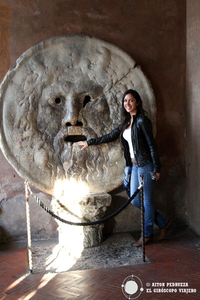 Bocca de la Veritá - La boca de la verdad de Roma